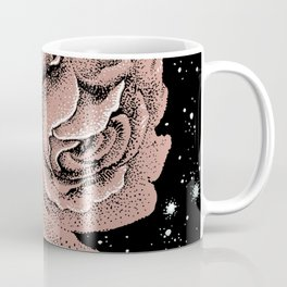 Warped Rose Coffee Mug