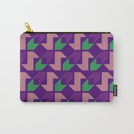 Clover&Nessie_Lavender&Mauve Carry-All Pouch