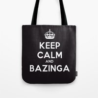bazinga Tote Bags featuring Bazinga by S.YassinPhotography