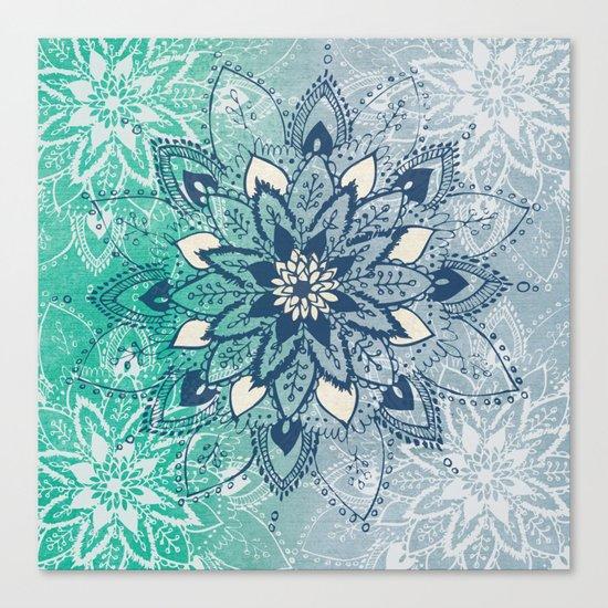 Mandala Fade  Canvas Print