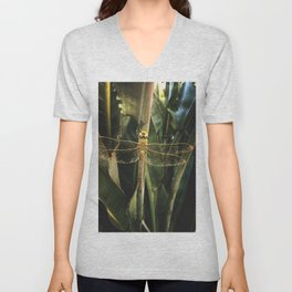 Dragon Fly Discoveries Unisex V-Neck