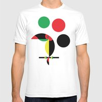 Tucan Mens Fitted Tee MEDIUM White