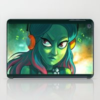 guardians of the galaxy iPad Cases featuring Gamora - Guardians of Galaxy by Annalisa Leoni