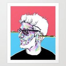 Dave 1 of Chromeo Art Print