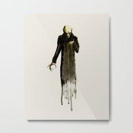 Nosferatu Watercolor Metal Print
