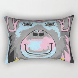 Chimp Off The Old Block Rectangular Pillow