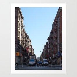 NYC - Bowery Art Print