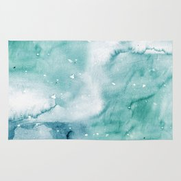 watercolor marble 03 Rug