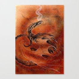 Sandstorm Dragon Canvas Print