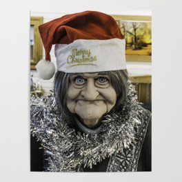 Christmas Grandma Poster