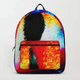 Bird of Paradise Abstract Backpack