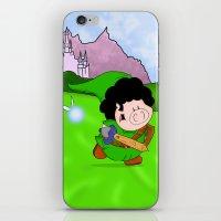 zelda iPhone & iPod Skins featuring Zelda! by Afro Pig