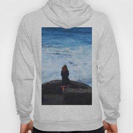 Ocean lover, meditation in front of the sea Hoody