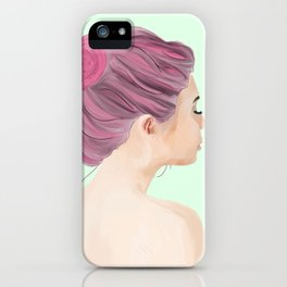 Rest Your Eyes iPhone Case