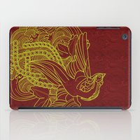 reassurance iPad Cases featuring Phoenix Beauty by Li Boggs