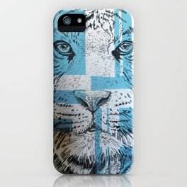 Tiger of Life iPhone Case