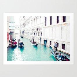 Venice Aqua I Fine Art Print Art Print