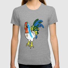 chickens beautifull sexy animals love heart win game playfull chicken T-shirt