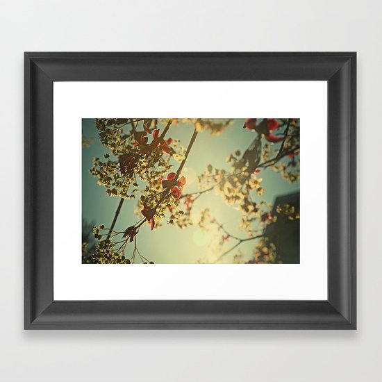 Welcome Spring | 02 Framed Art Print