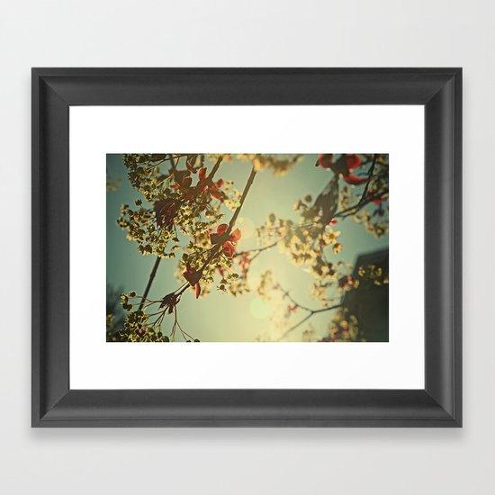 Welcome Spring   02 Framed Art Print
