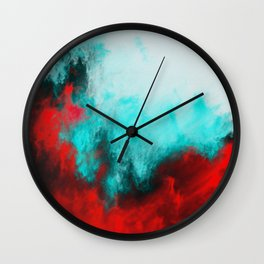 Painted Clouds III.1 Wall Clock