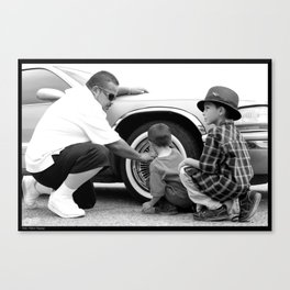 Nathan & The Boys Canvas Print
