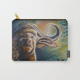 Alarmed Buffalo Carry-All Pouch