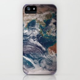 691. NASA Blue Marble 2007 West iPhone Case