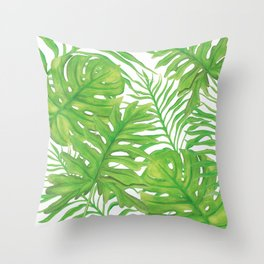 Living Art Collection by Artist Jane Harris Throw Pillow