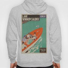 Vintage poster - Lake Winnipesaukee Hoody
