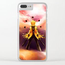 naruto mode full Clear iPhone Case