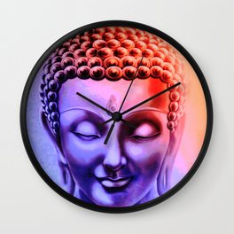 Happy Buddha Wall Clock