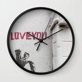 LOVE YOU ... 2 Wall Clock
