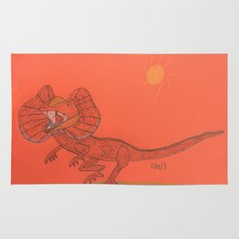 Frilled Lizard Rug