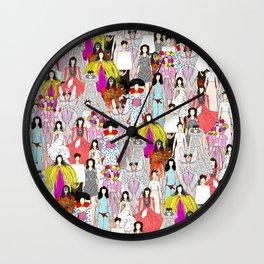 Bjork-A-thon Wall Clock