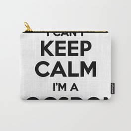 I cant keep calm I am a LOGSDON Carry-All Pouch