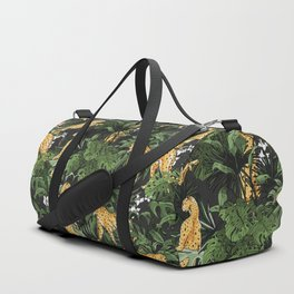 Cheetah in the wild jungle Duffle Bag