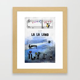 La La Land Framed Art Print