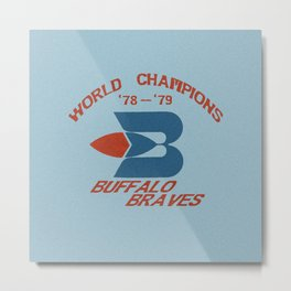 World Champion Braves Metal Print