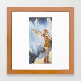 Trixie Framed Art Print