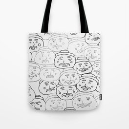 Faces Making Faces Tote Bag