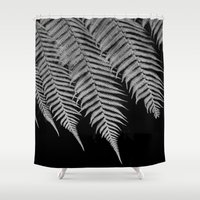 fern Shower Curtains featuring Fern by Penelope Clute