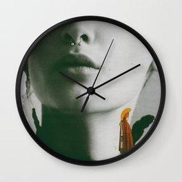 shoulder priest Wall Clock