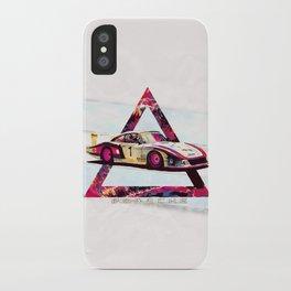 """Porsche 935/78 """"Moby Dick"""" // Le Mans Race Cars iPhone Case"""