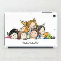 teen wolf iPad Cases featuring Pack McCuddle - Teen Wolf by aredblush