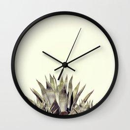Agava cactus Wall Clock