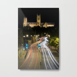 Lincoln Cathedral Trails Metal Print