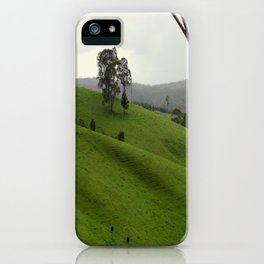 Grazing in the Highlands iPhone Case