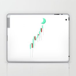 Candle to the MOON Laptop & iPad Skin