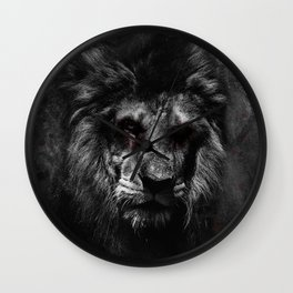 The Undead King Wall Clock